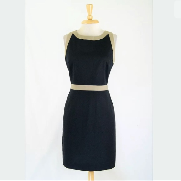 59e2c8d6df2b Tahari Dresses | T Colorblock Cotton Stretch Sheath Dress 8 | Poshmark